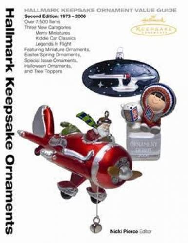 hallmark keepsake christmas ornaments price guide mib ebay