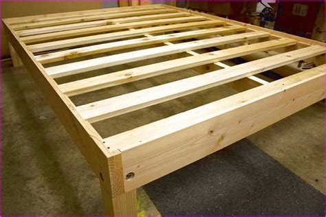 wooden platform bed frame plans bed frame plans diy