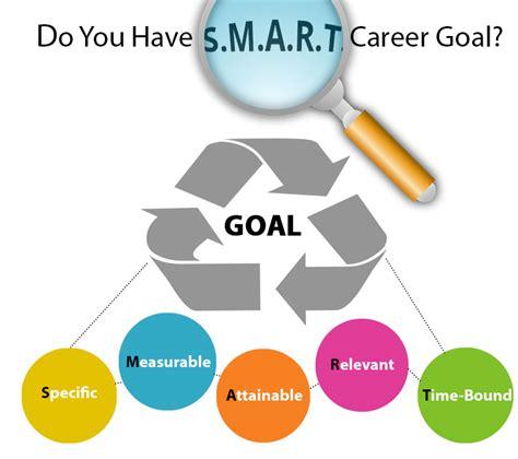 do you a s m a r t career goal
