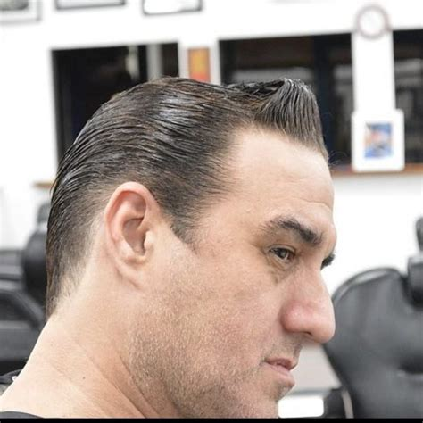 prohibition hairstyles men slick back prohibition hairstyles slicked back bald fade