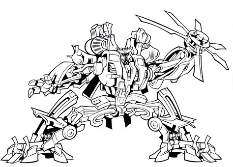 coloring book pages transformers bulkhead transformer coloring page