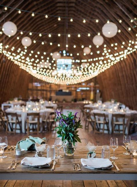 17 best ideas about barn wedding lighting on country wedding decorations weddings