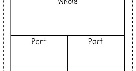 Part Part Whole Mat by Addition Subtraction Missing Number Related Facts