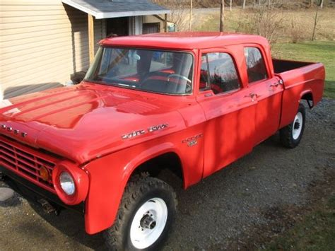 dodge w200 power wagon dodge power wagons pinterest 1967 w200 dodge power wagon crew cab 4x4 power wagons 2