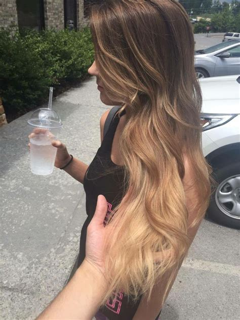 how to ombre hair to light 25 best light brown ombre ideas on