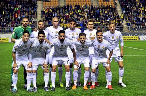 imagenes del real madrid todo el equipo 2015 im 225 genes del partido entre el cadiz y el real madrid de
