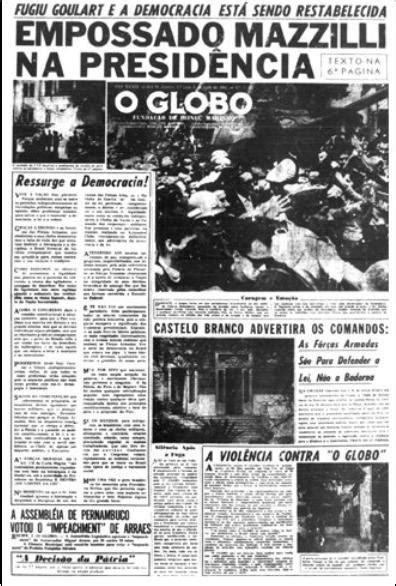 DIREITO PARA QUEM?: O que a imprensa disse em 1964