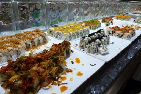 buffet picture of makino at premium outlets las vegas