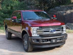 Ford F 250 King Ranch 2017 Chevrolet Silverado Vs 2017 Ford F 150 Which Is