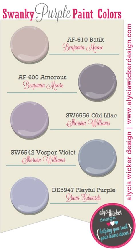 top 5 swanky purple paint colors paint colors 2