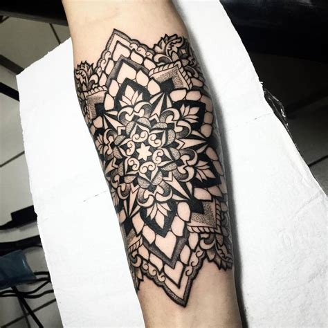 mandala forearm tattoo designs ideas and meaning