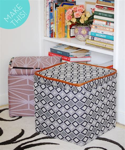 How To Make And Upholster A Storage Ottoman Ottomans How To Reupholster A Storage Ottoman