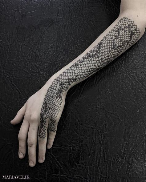 snake scale tattoo animals with snake skin and scale