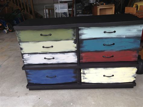 Colored Dresser by Thrifty Treasures Multi Colored Dresser
