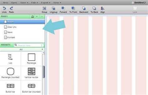 web design mockup tutorial eine neue webseite entsteht teil 2 die layout vorlage