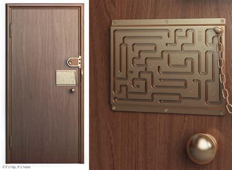 the brilliant maze door chain lock finally comes to