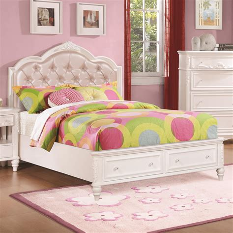 child bedroom set buy caroline twin storage bedroom set by coaster from www