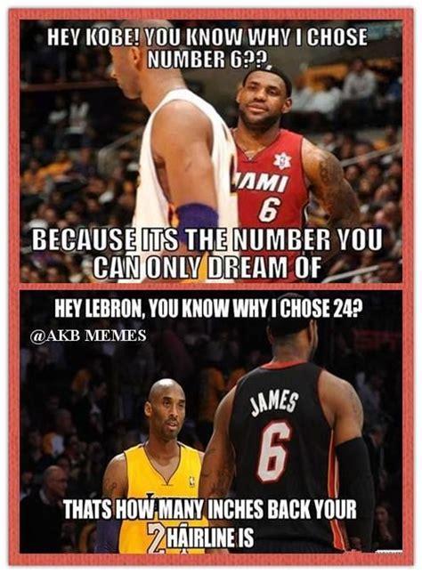 Lebron Kobe Jordan Meme - lebron vs kobe lol http weheartchicagobulls com nba