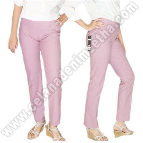 Harga Celana Merk Zetha celana denim warna lavender celana denim zetha