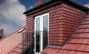 Inset Dormer Doors In Dormer Roof And Juliet Balcony External