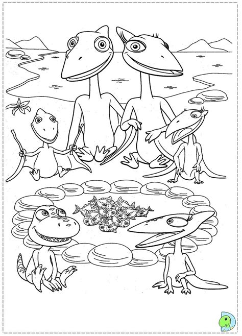 coloring pages dinosaur train dinosaur train coloring page dinokids org