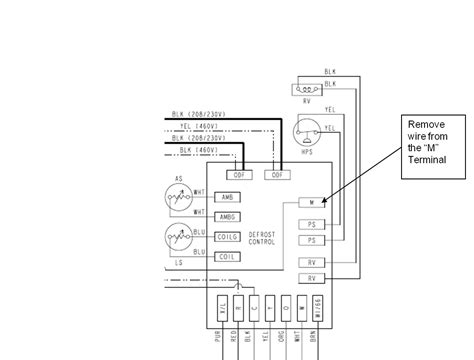 ruud heat defrost board wiring diagram ruud free engine image for user manual