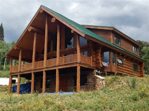 log home restoration colorado