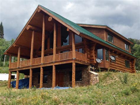 log home restoration colorado