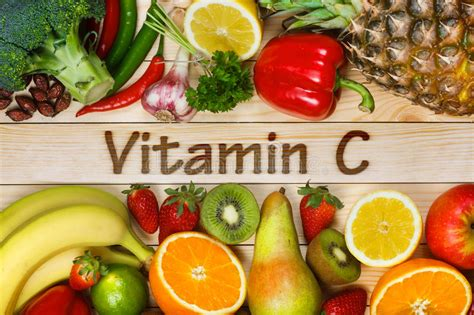 4 vegetables high in vitamin c foods high in vitamin c stock image image of background