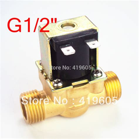 Solenoied Valve Us 15 12 free shipping 12vdc eletric solenoid valve 1 2 quot normally