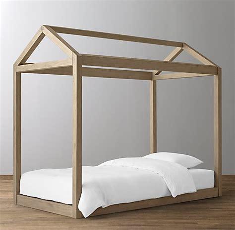 Platform Canopy Bed Frame Cole Platform Bed