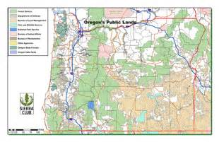 Blm Land Map Oregon by Oregon Chapter Sierra Club