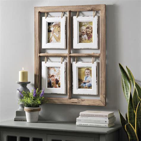 hanging collage frames hanging window pane collage frame whimsical