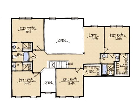 schumacher homes house plan detail