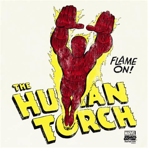 Baju Human Torch Fantastic Four marvel comics human torch fantastic four johnny t