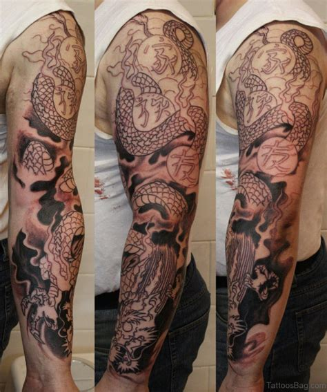 dragon sleeve tattoo designs 50 best tattoos on sleeve