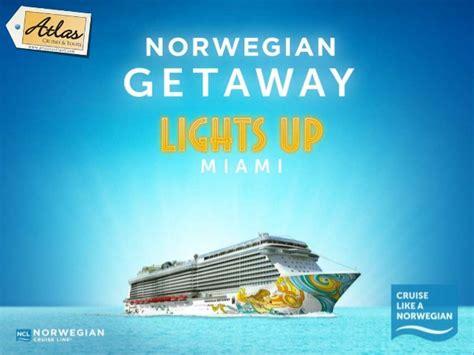 norwegian cruise recruitment meet the new norwegian getaway cruise ship