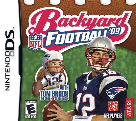 backyard footbal backyard football 09 ds game