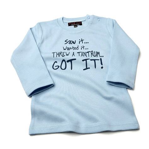 T Shirts Baby baby t shirt by nappy notonthehighstreet