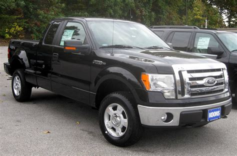 file 2009 ford f 150 xlt jpg wikimedia commons