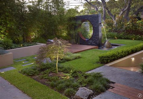 Room Designer App contemporary landscape and yard with fountain amp water