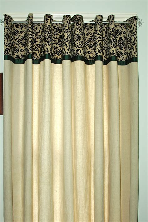 drop cloth canvas curtains turtlecraftygirl diy canvas dropcloth curtains