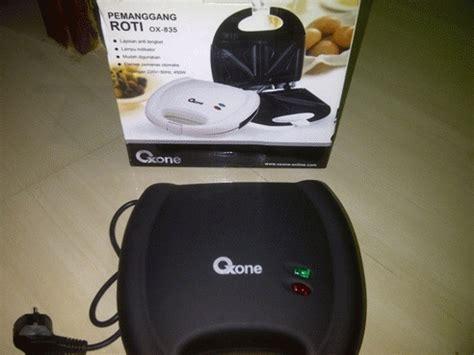 Pemanggang Roti Listrik Kecil oxone ox 835 pemanggang roti sandwic toaster listrik termurah