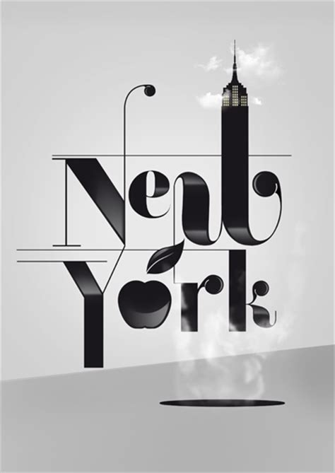 design inspiration new york typography tuesday show us your type for poster design