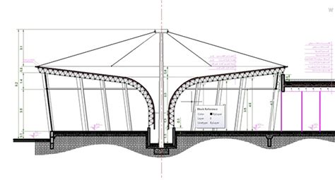 3 section tent working drawings car showroom on behance