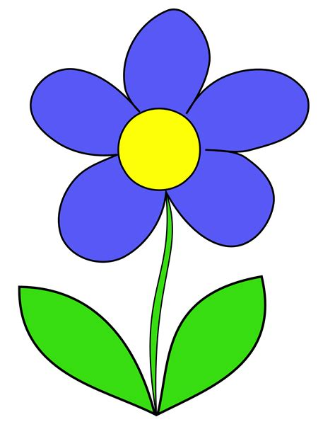 flower simple simple flower image clipart best