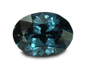 0 82 carats blue spinel gemstone oval ebay
