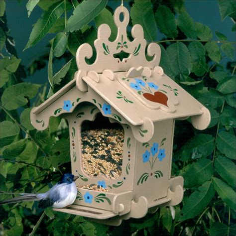 Bird House Feeder Wooden Bird Feeders The Black Forest Bird Feeder Kit