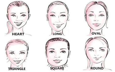 find the perfect hairstyle by knowing your face shape