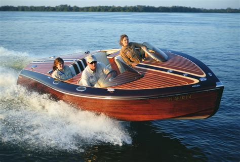 Handcrafted Wooden Boats - indmar marine engines handcrafted luxury partners with